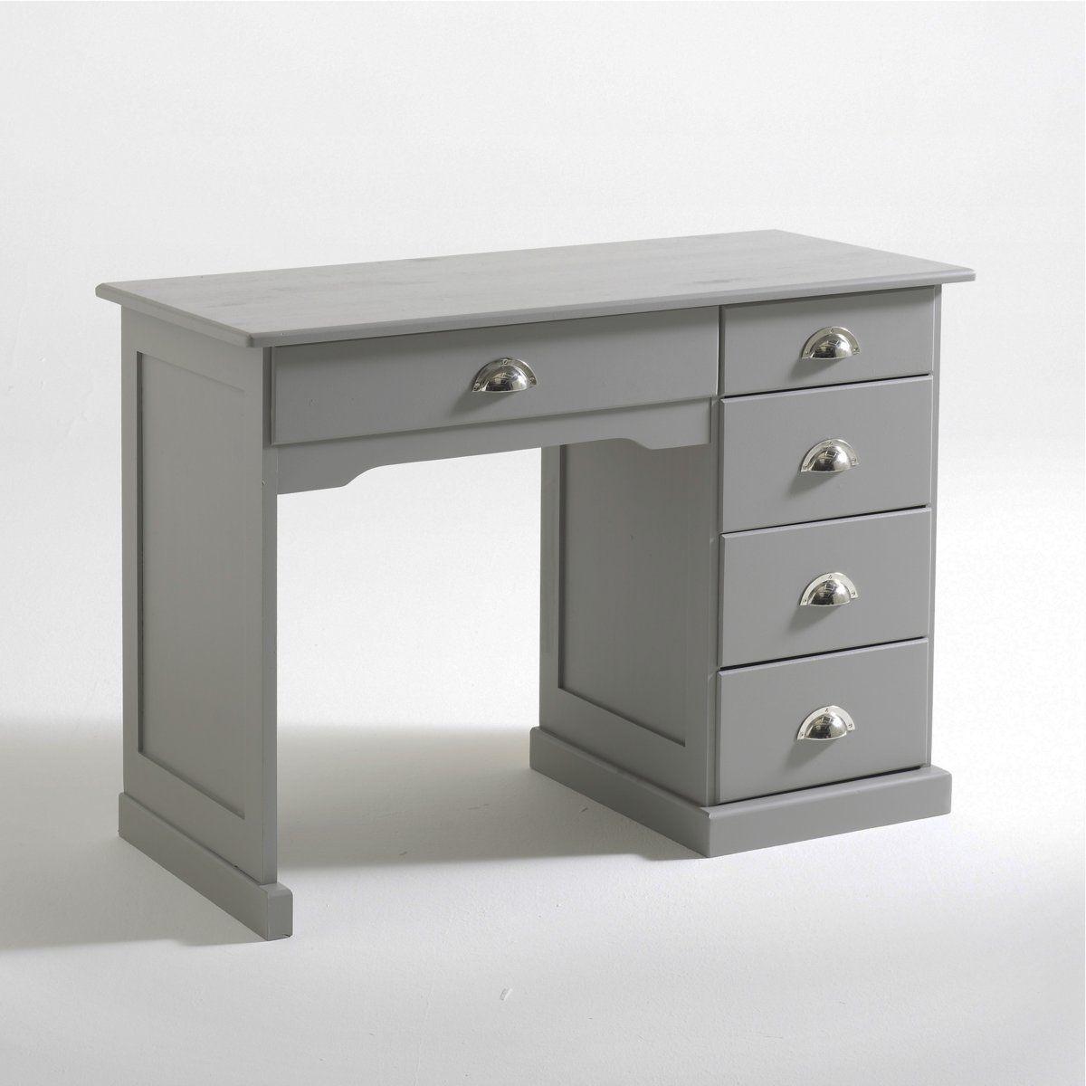 La redoute interieurs bureau pin massif betta shoppingscanner - La redoute meuble bureau ...