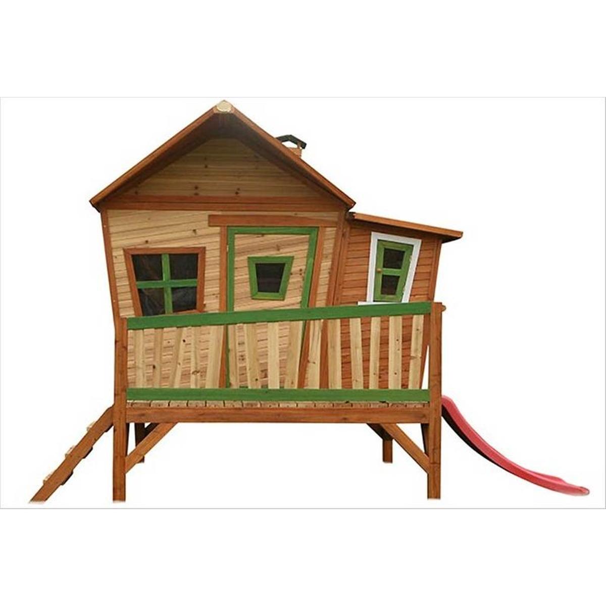 Grande cabane en bois sur pilotis Emma