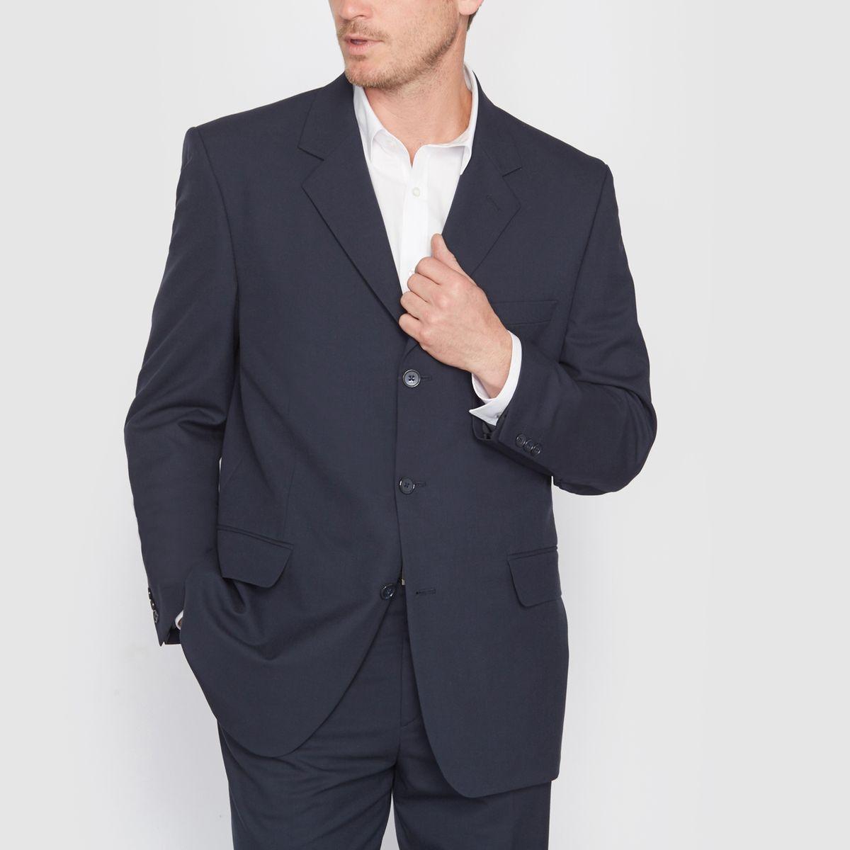 Veste de costume droite (moins de 1m76)