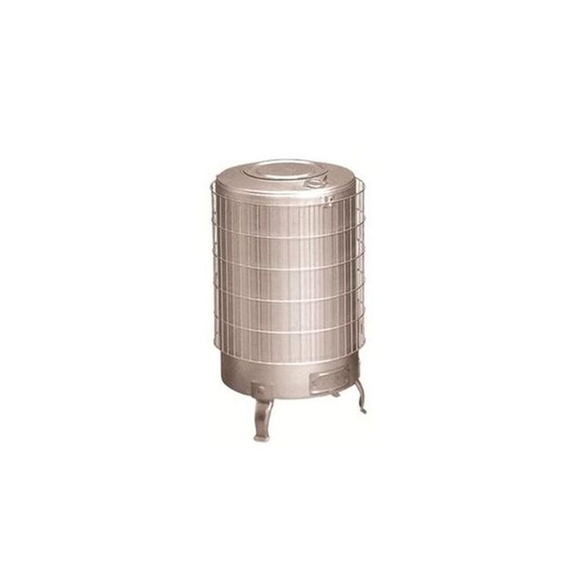 Poêle à bois Turbo 15,1kW Sortie Horizontale Aluminium - Theca -