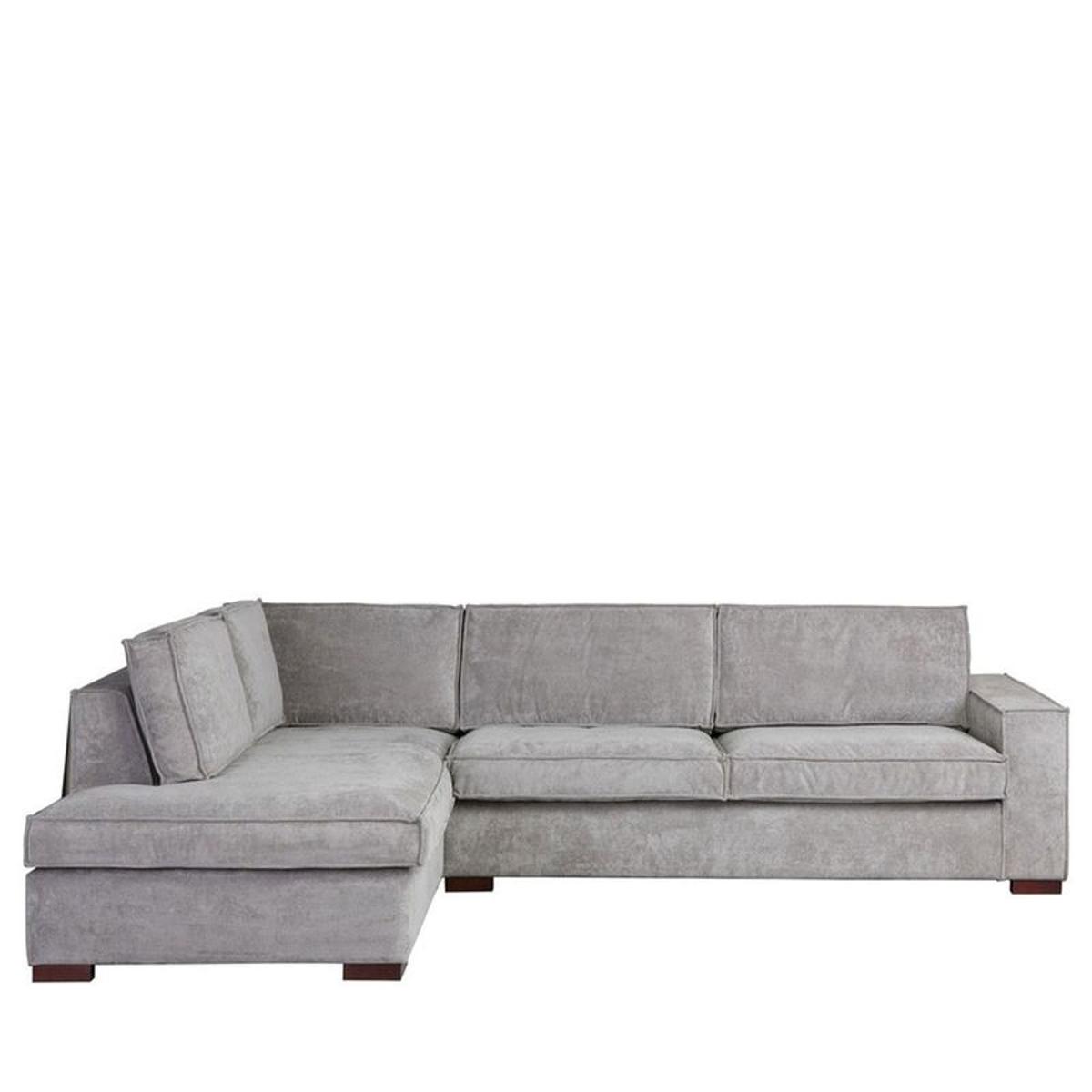 Thomas - canapé d'angle sur le canapé gauche en carton ondulé