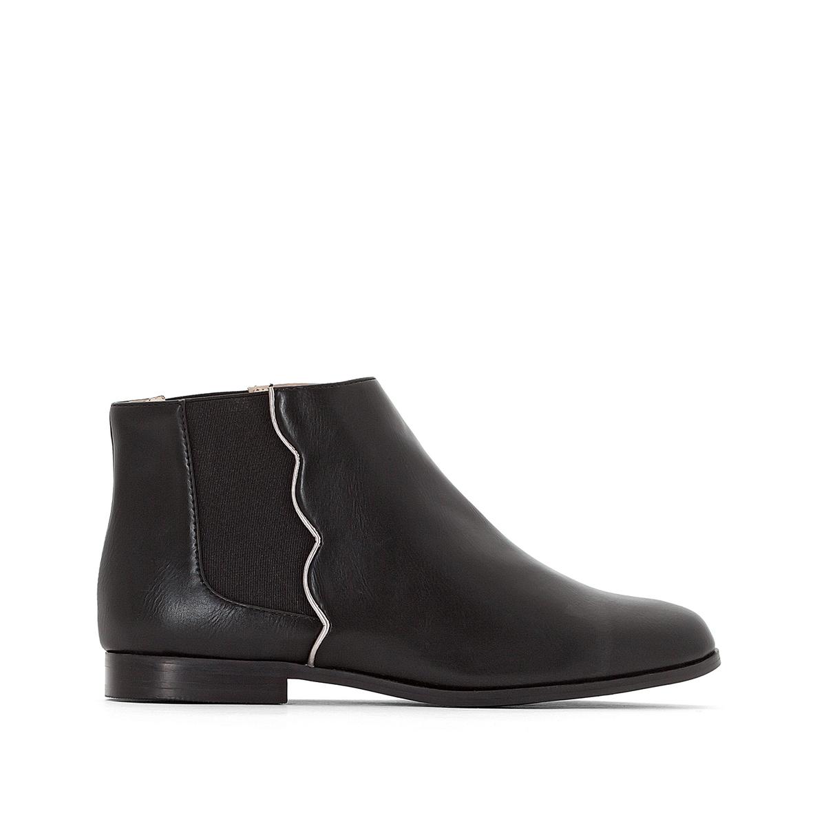 Ботинки-челси с волнистыми швами