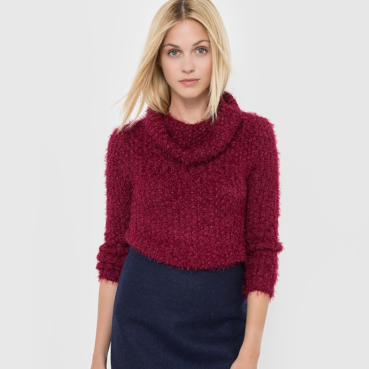 Пуловер с высоким воротникомСостав и описание :Материал : 70% полиамида, 30% акрила.Марка : MOLLY BRACKEN.<br><br>Цвет: бордовый