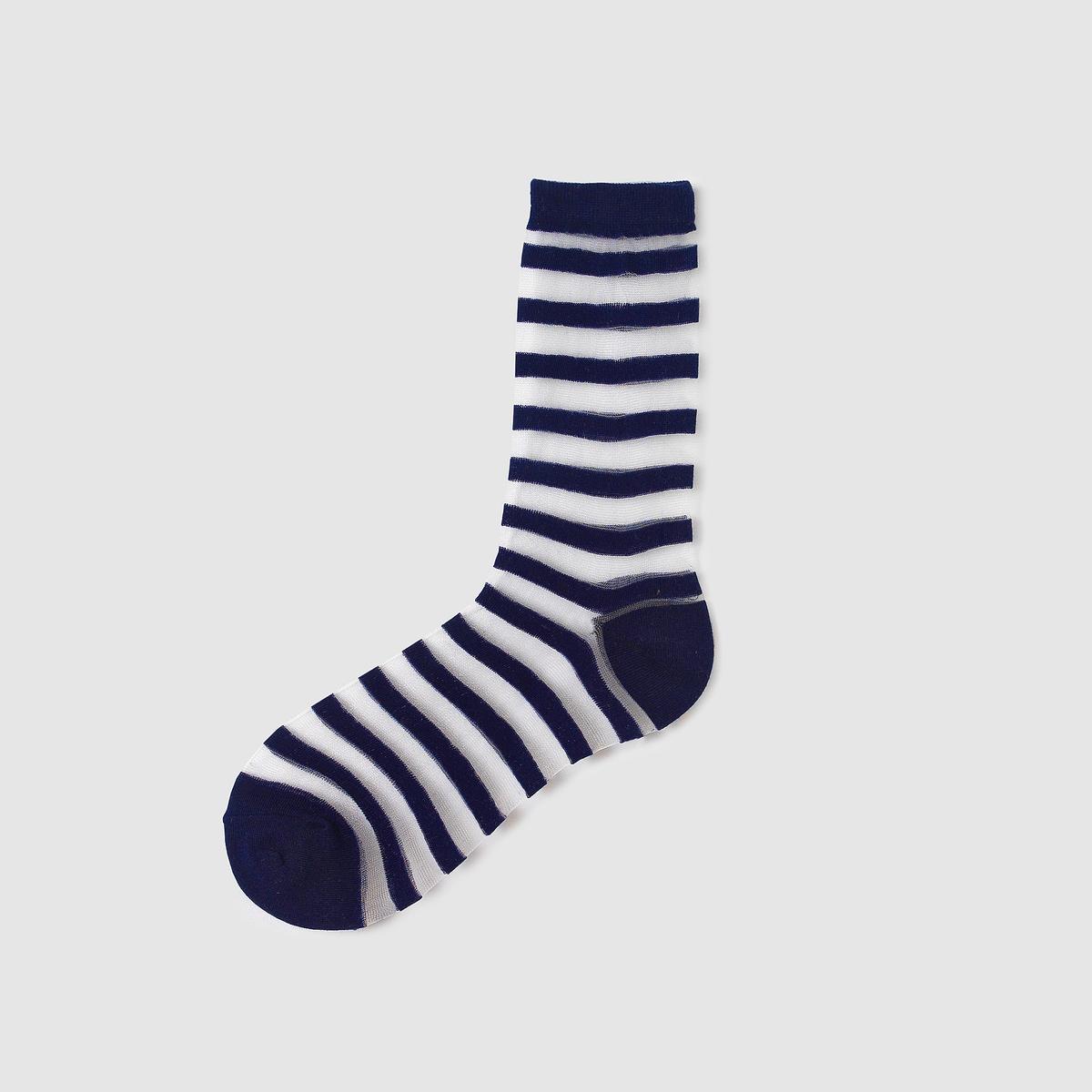 Носки в полоску прозрачные от La Redoute