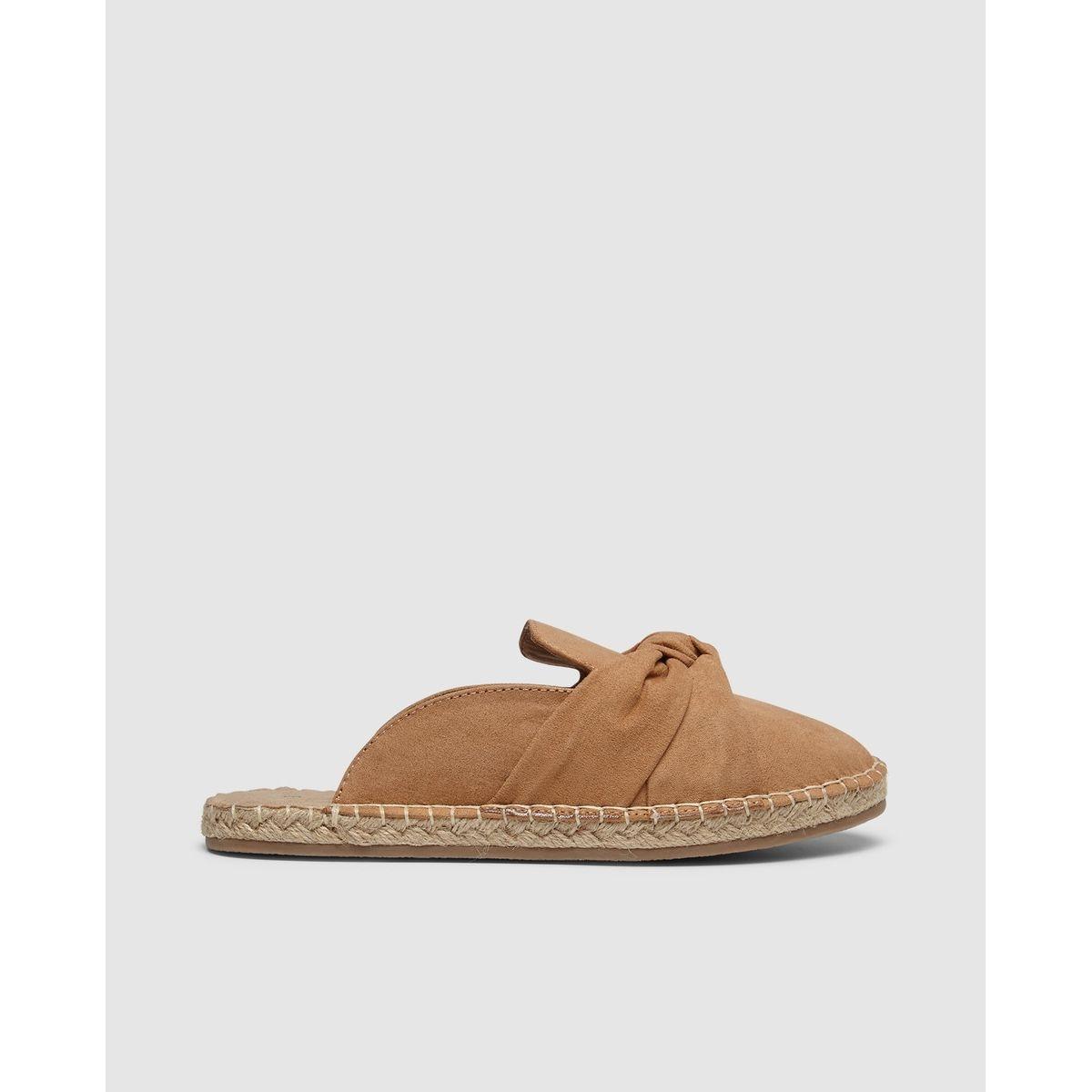 Sandales jute type mules