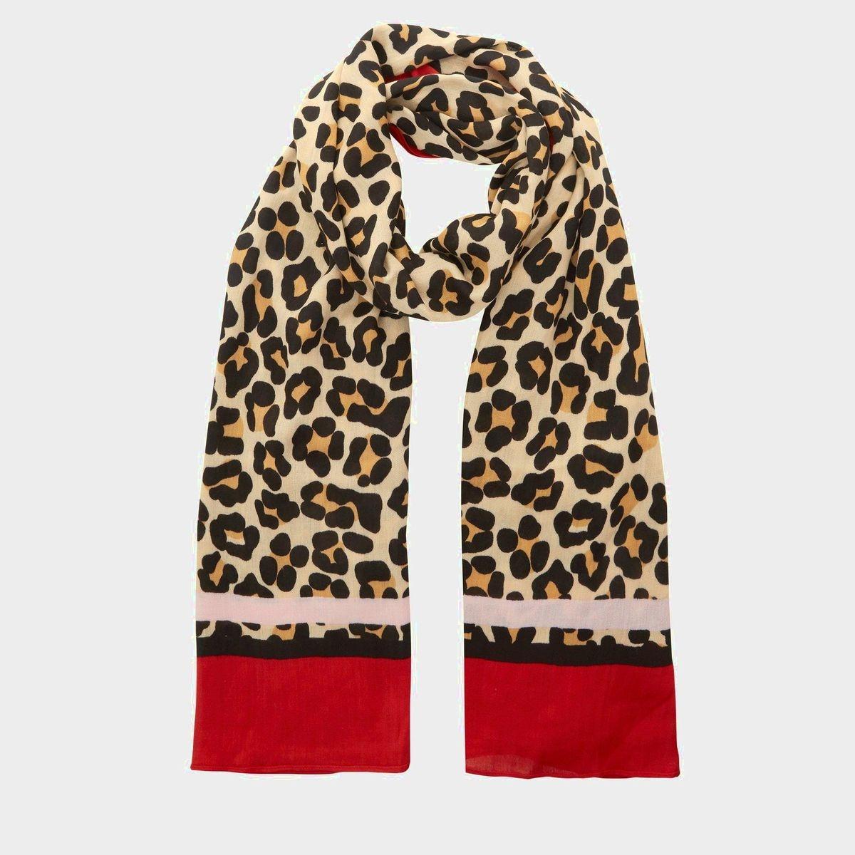 Nouveau Écharpe à imprimé léopard - LEORDER. DUNE 981b3849a06e