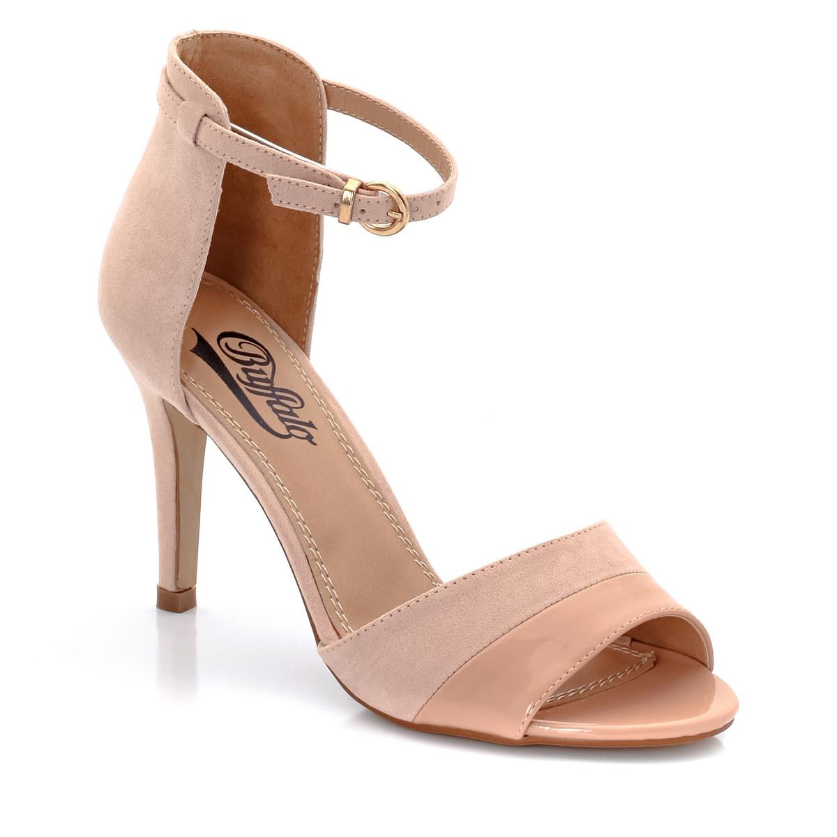 Босоножки из кожи на каблуке цены онлайн