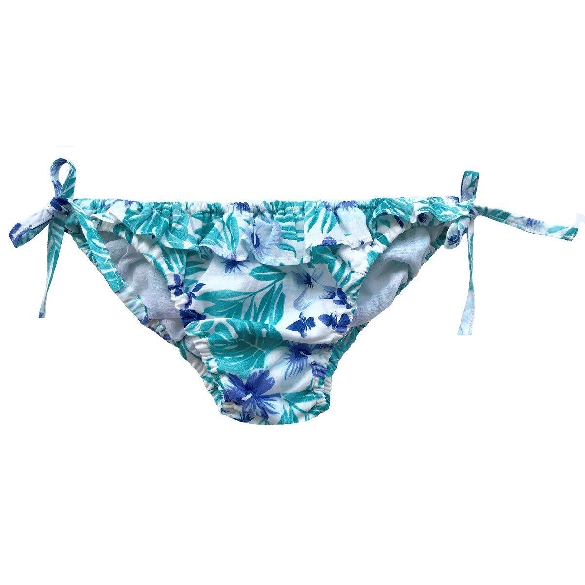 Maillot de bain en coton motif Hawaï MARYLIN