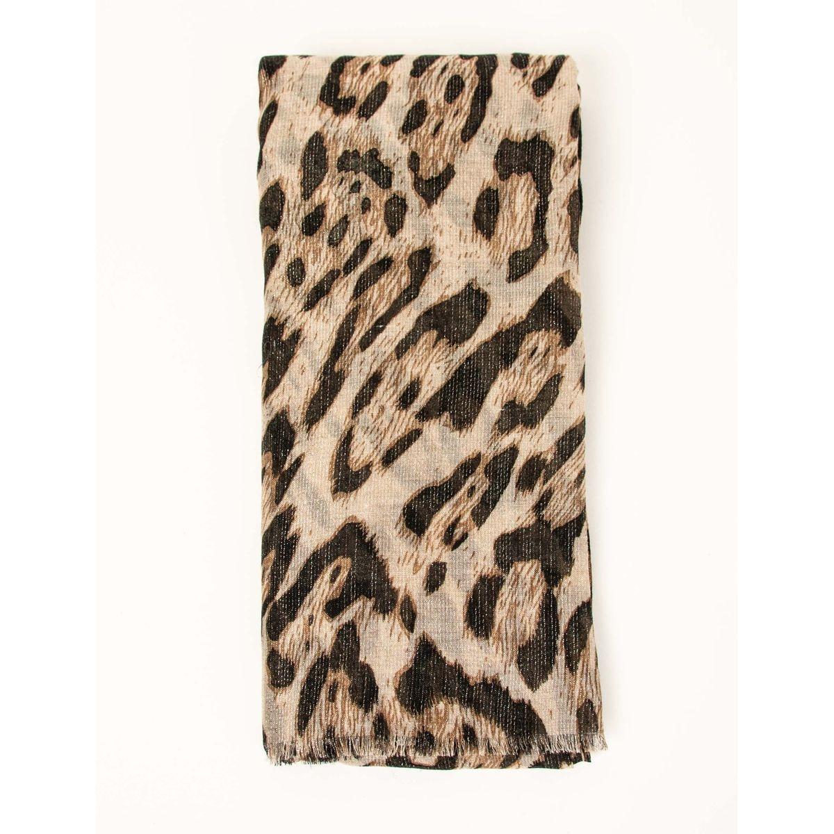 Foulard imprimé léopard
