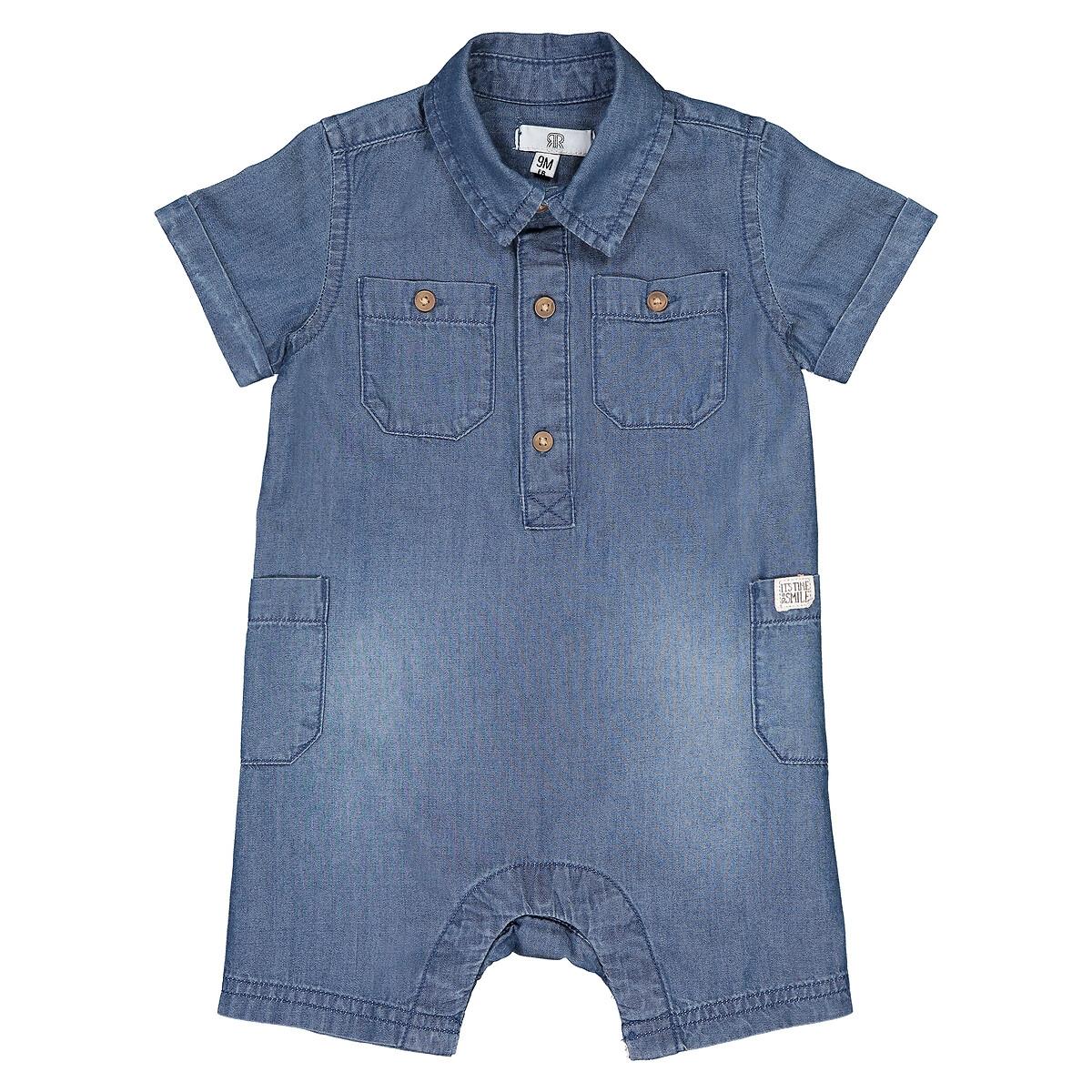 Шорты La Redoute Джинсовые мес 3 года - 94 см синий шорты la redoute джинсовые мес 18 мес 81 см синий