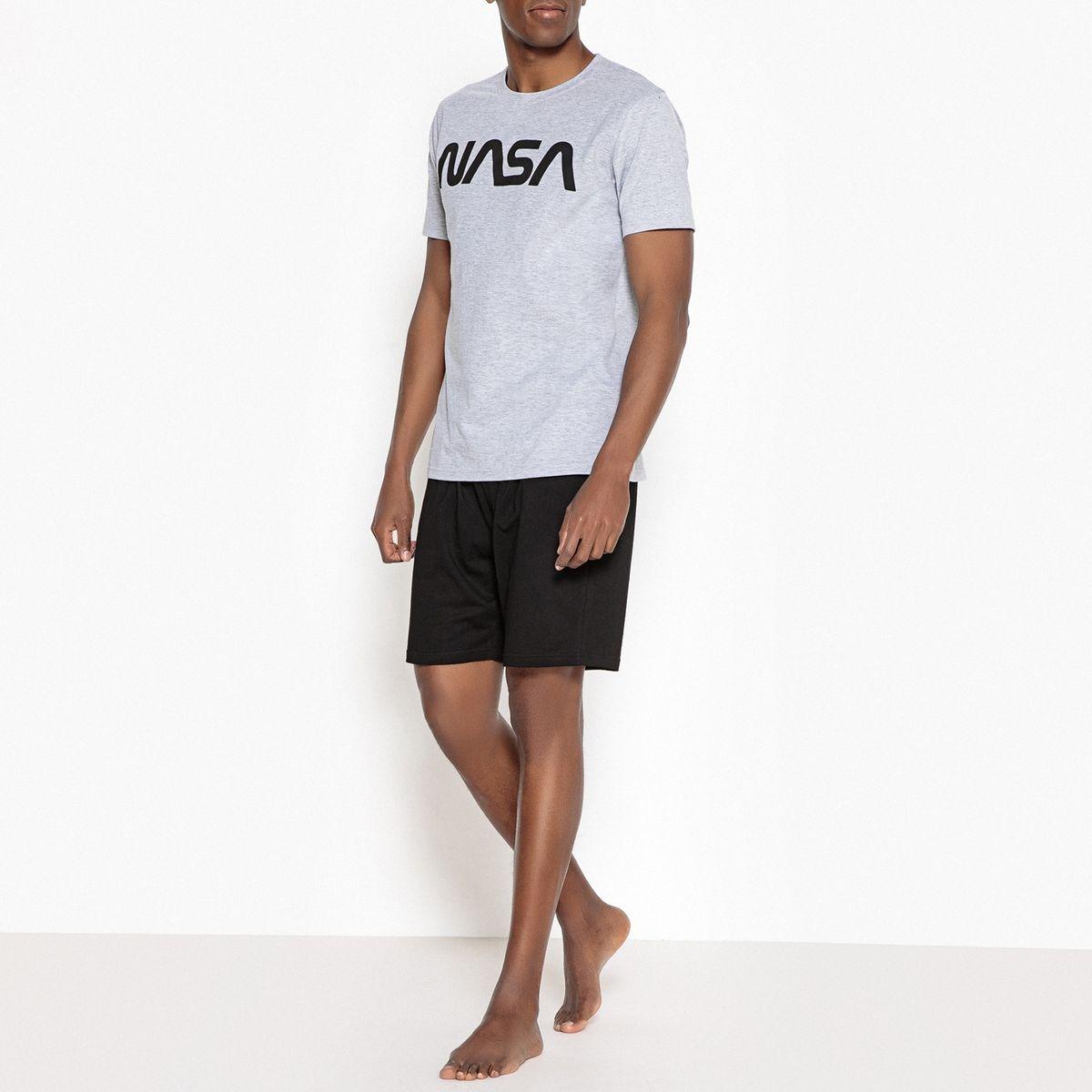 Pyjashort imprimé Nasa New Logo