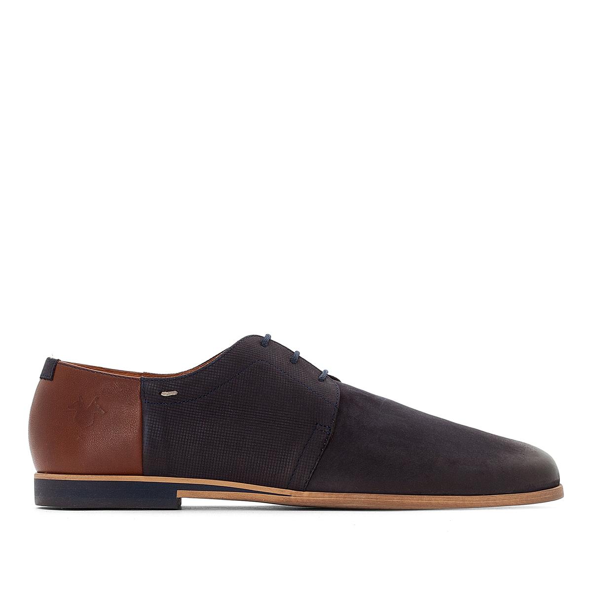 Ботинки-дерби кожаные Fure 62 ботинки дерби под кожу питона