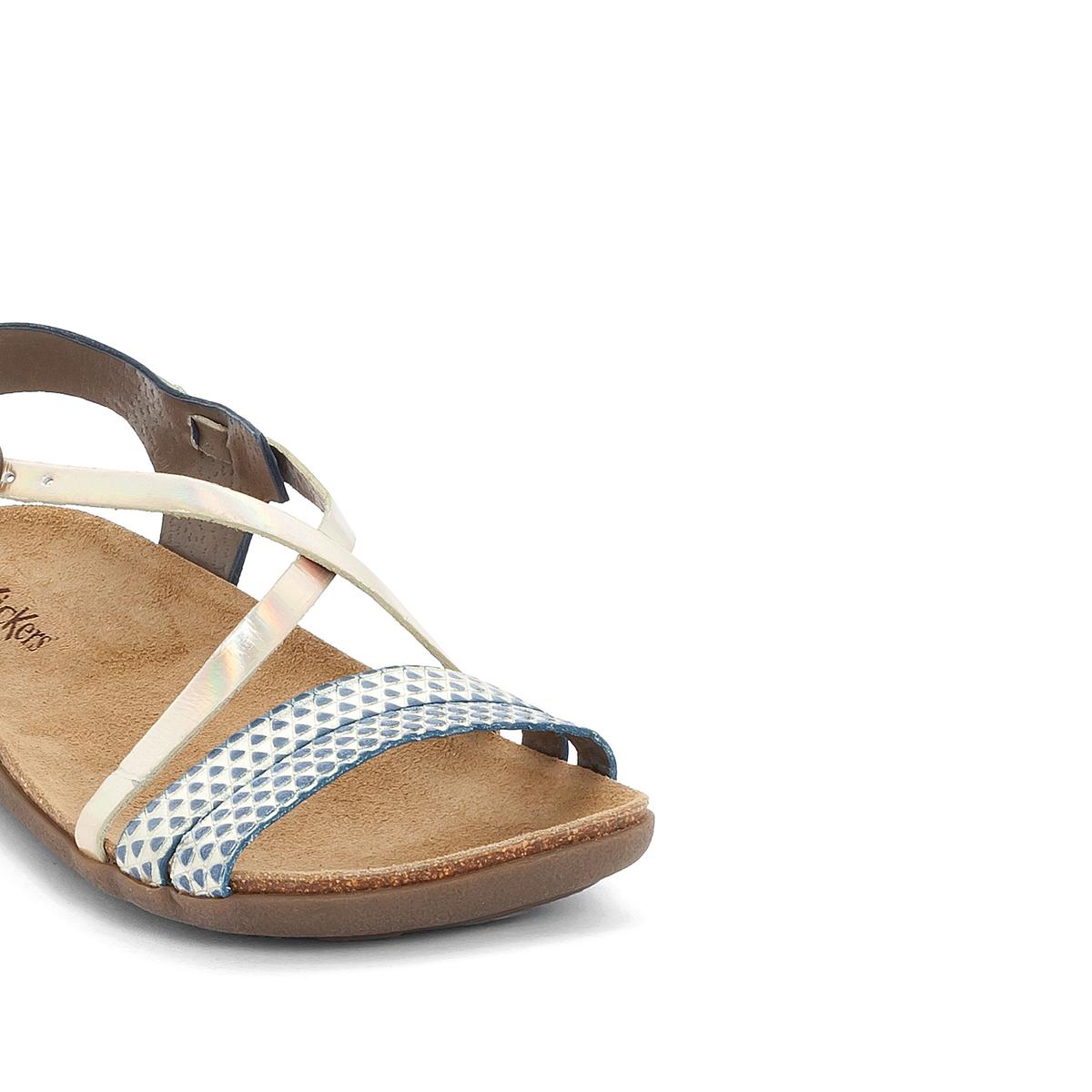 Imagen adicional 3 de producto de Sandalias de piel ATOMIUM - Kickers