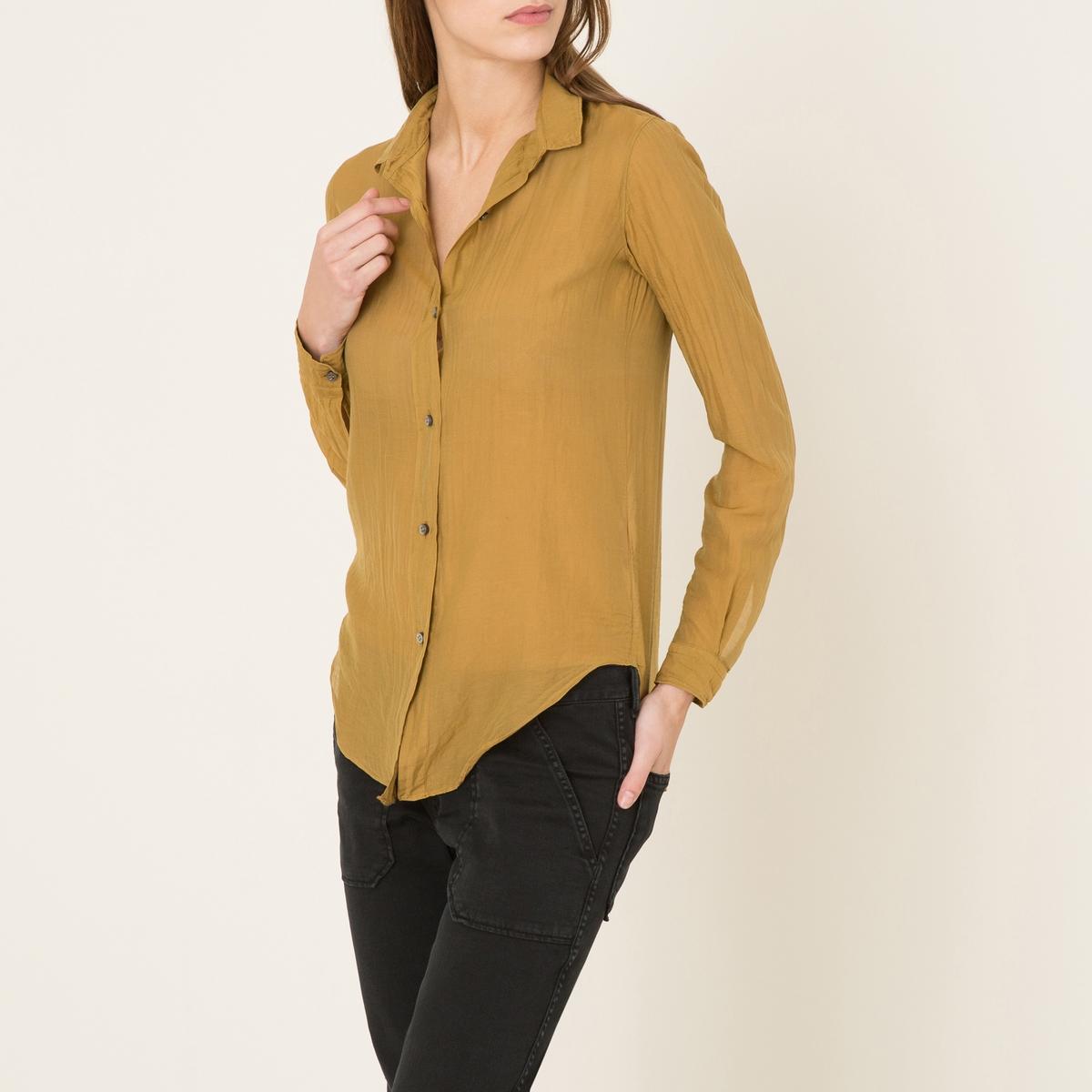 Блузка из шелка и хлопка от La Redoute