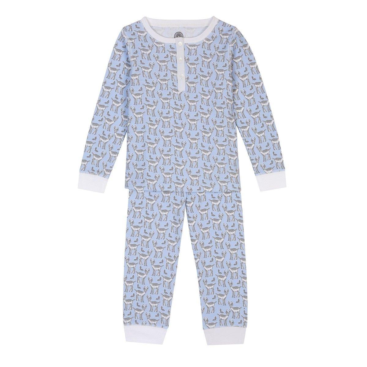 Pyjama enfant en coton bio - Imprimé Cerf