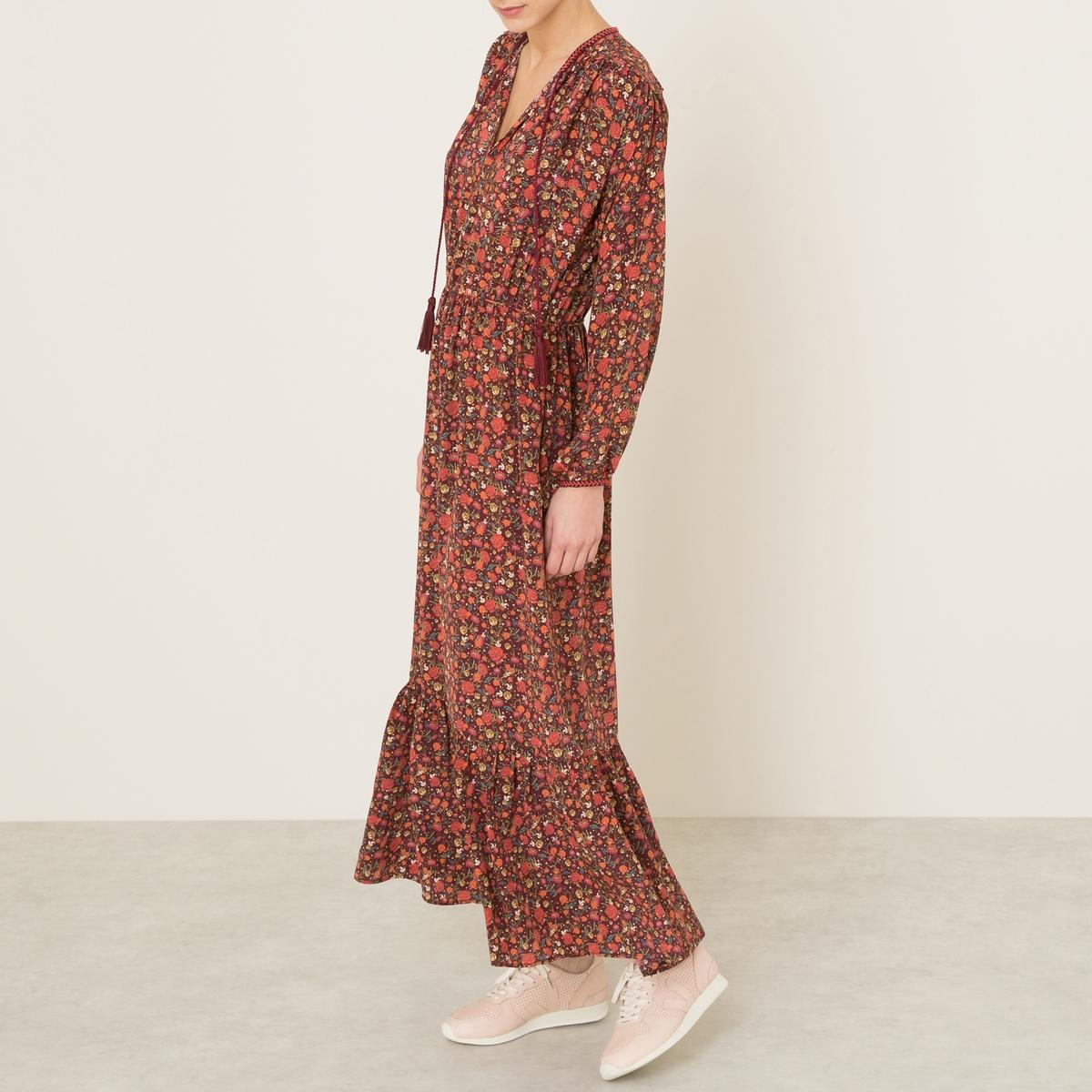 Платье из шелка от La Redoute