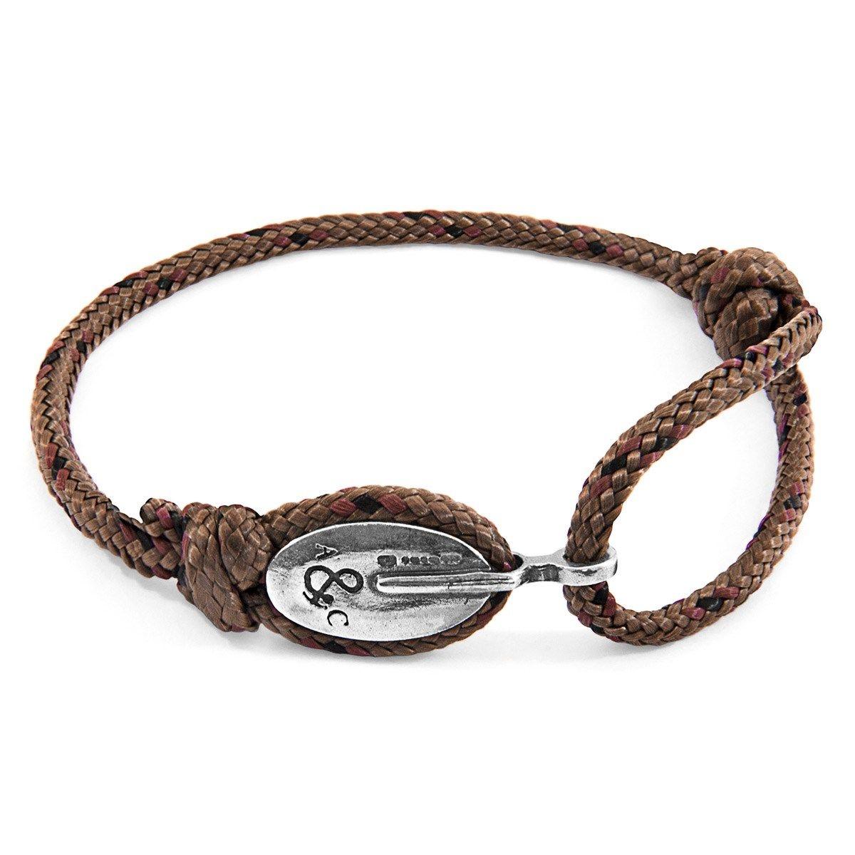 Bracelet London Argent et Corde