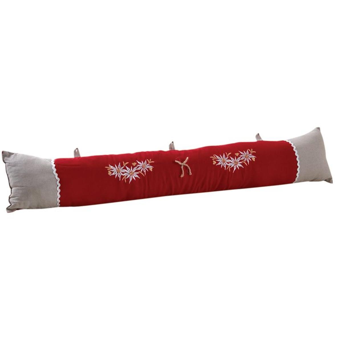 Bas de porte en coton et lin Edelweiss