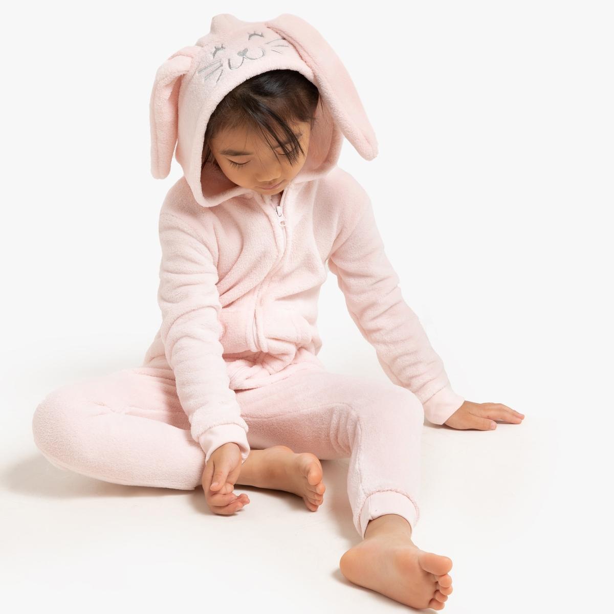 Macacão-pijama coelho, 3-12 anos