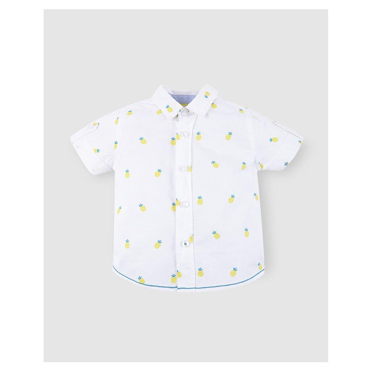 Chemise   avec ananas