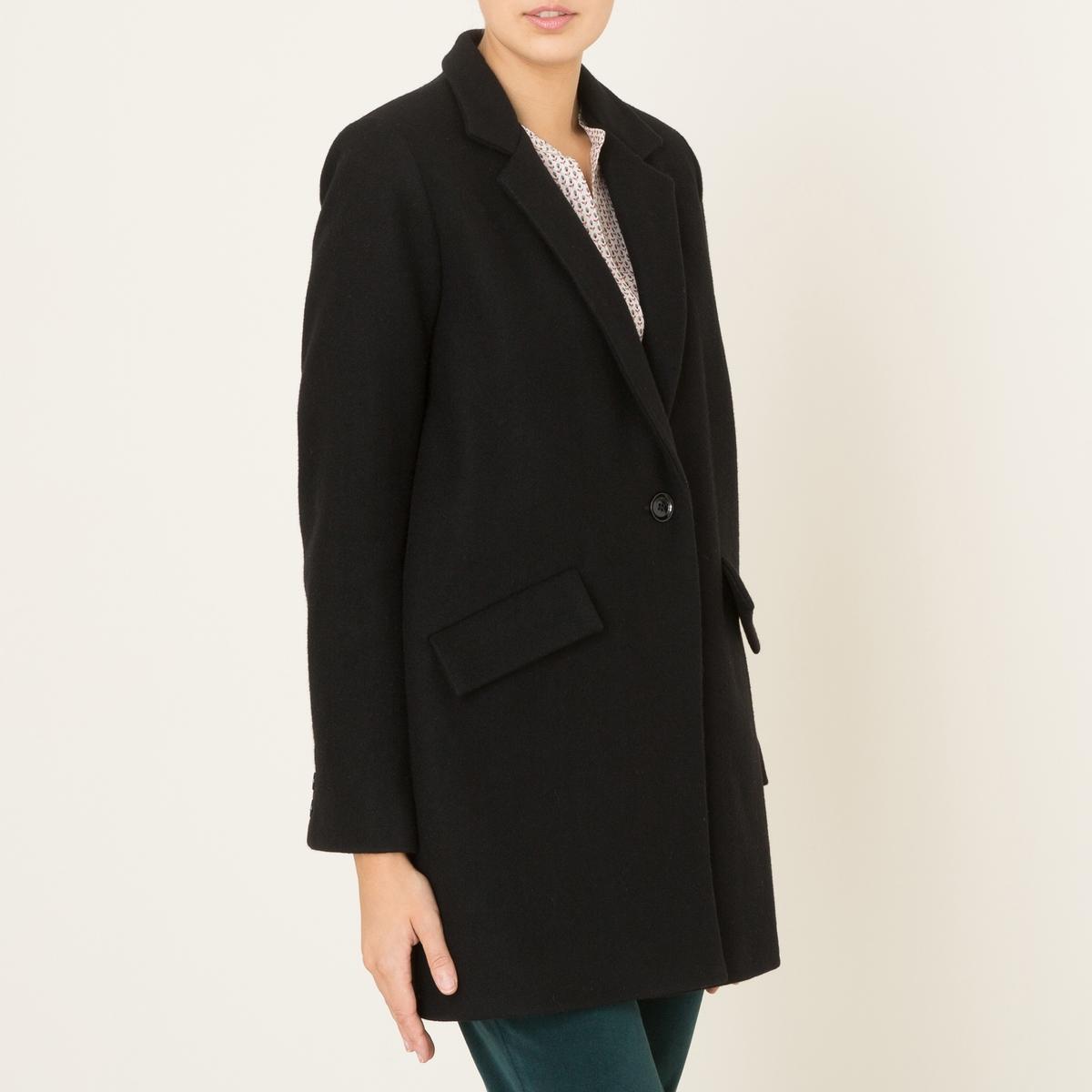 Пальто средней длины HELLO DOL пальто средней длины 60% шерсти