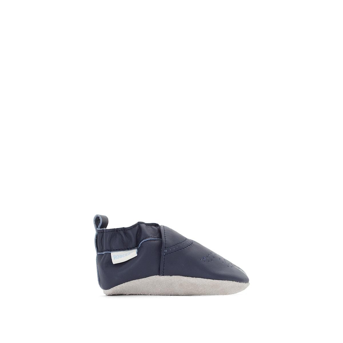 Туфли кожаные Chic &amp; SmartОписание:Детали •  Тапки в виде носков •  Застежка: без застежкиСостав и уход •  Верх 100 % кожа •  Подкладка 100 % текстиль •  Стелька 100 % кожа •  Подошва 100 % кожа<br><br>Цвет: розовый,синий морской<br>Размер: 19/20
