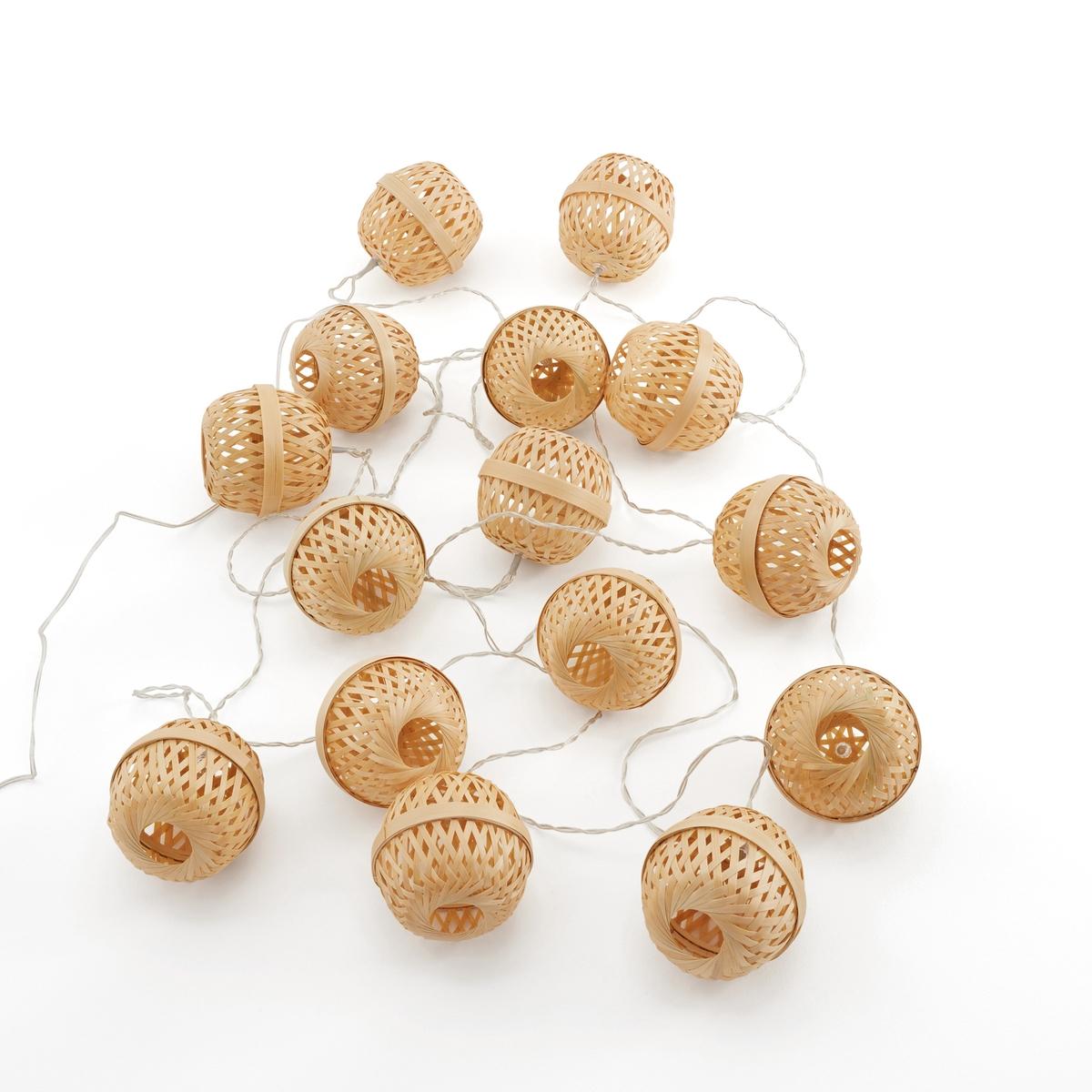 Гирлянда светодиодная из бамбука Zibiline