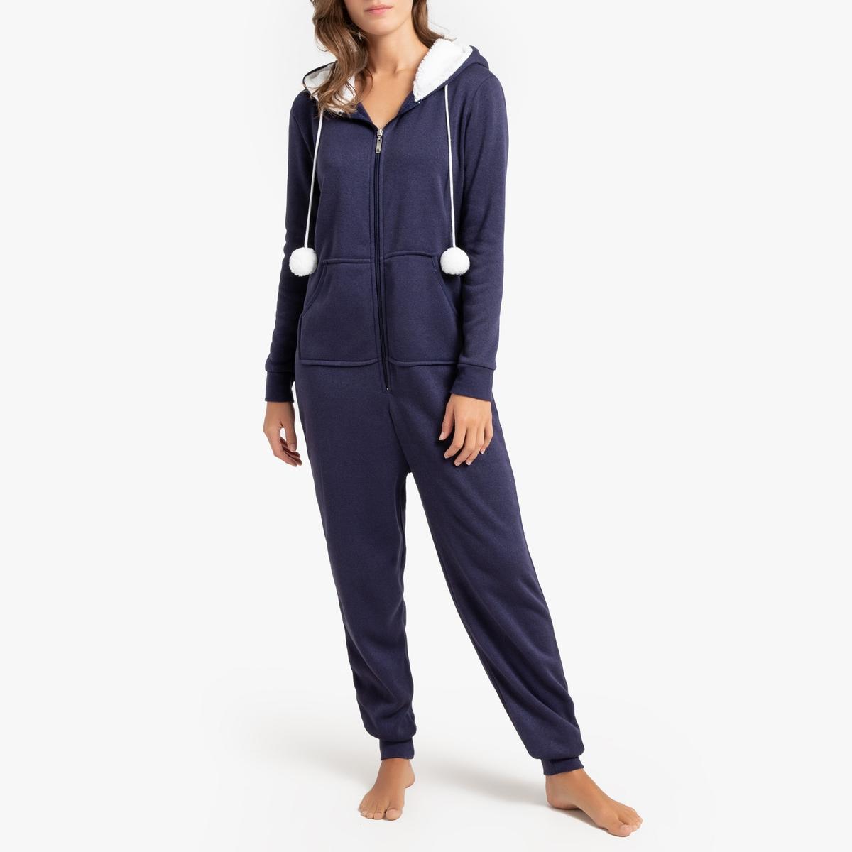 Mono pijama con capucha cálida