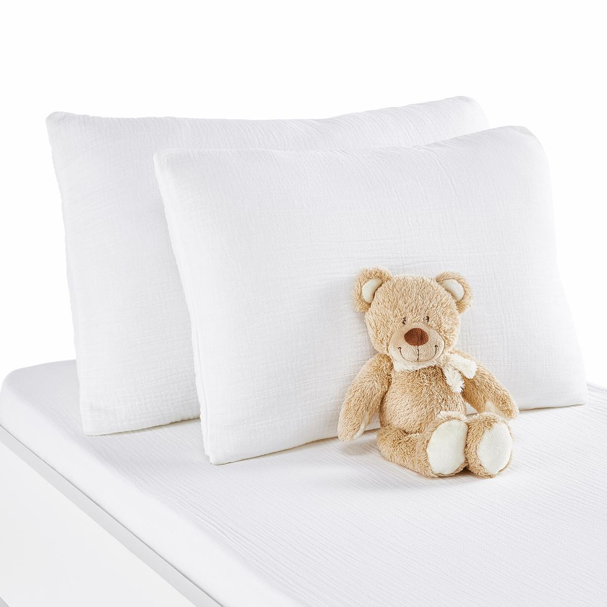 Fronha de almofada para bebé em gaze de algodão, Kumla