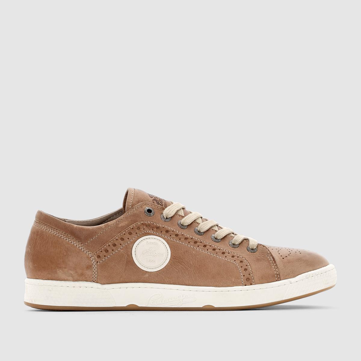 Кеды низкие JOKIN/C - PATAUGASКеды низкие JOKIN/C от PATAUGAS.Верх: кожа.Подкладка: кожа и текстиль.Стелька: кожа и текстиль.Подошва: резина.  Застежка: на шнуровке.Преимущества: простота и стиль кожаных кед от Pataugas.<br><br>Цвет: серо-коричневый<br>Размер: 42.45