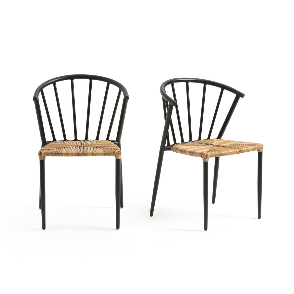 Confezione da 2 sedie da giardino GLAZIN