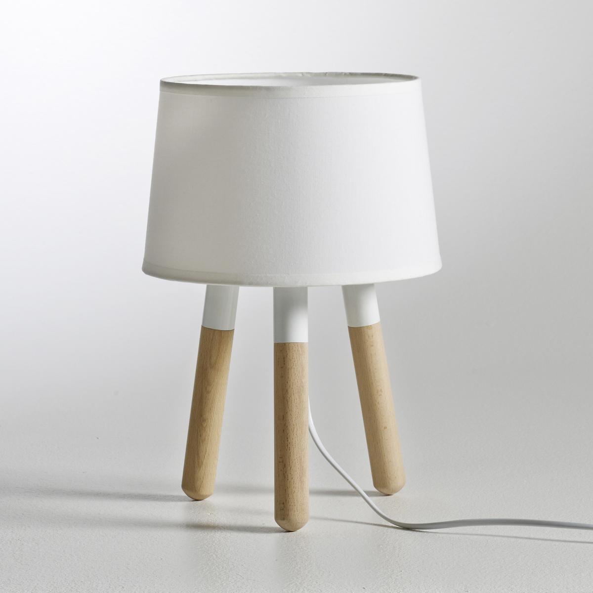 Лампа EloriЛампа, Elori. Современный дизайн, смело меняющий устоявшиеся правила декора. Описание лампы Elori :Патрон E14 для лампочки макс. 40W (не входит в комплект) Этот светильник совместим с лампочками    энергетического класса    : A, B, C, D, E.Характеристики лампы Elori:Каркас из дерева (сосна), с лаковым покрытием .Абажур из белой ткани Всю коллекцию светильников вы можете найти на сайте laredoute.ru.Размеры лампы Elori:Основание :Длина : 22 смВысота : 32 смГлубина : 22 смАбажур:Высота : 14 смДиаметр: 22 см<br><br>Цвет: белый