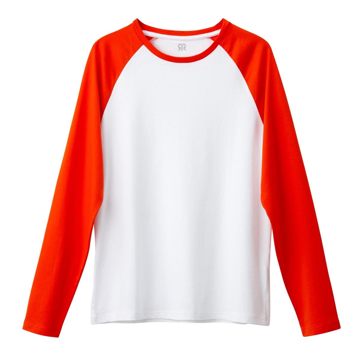 Camisola de mangas compridas bicolor, Oeko Tex