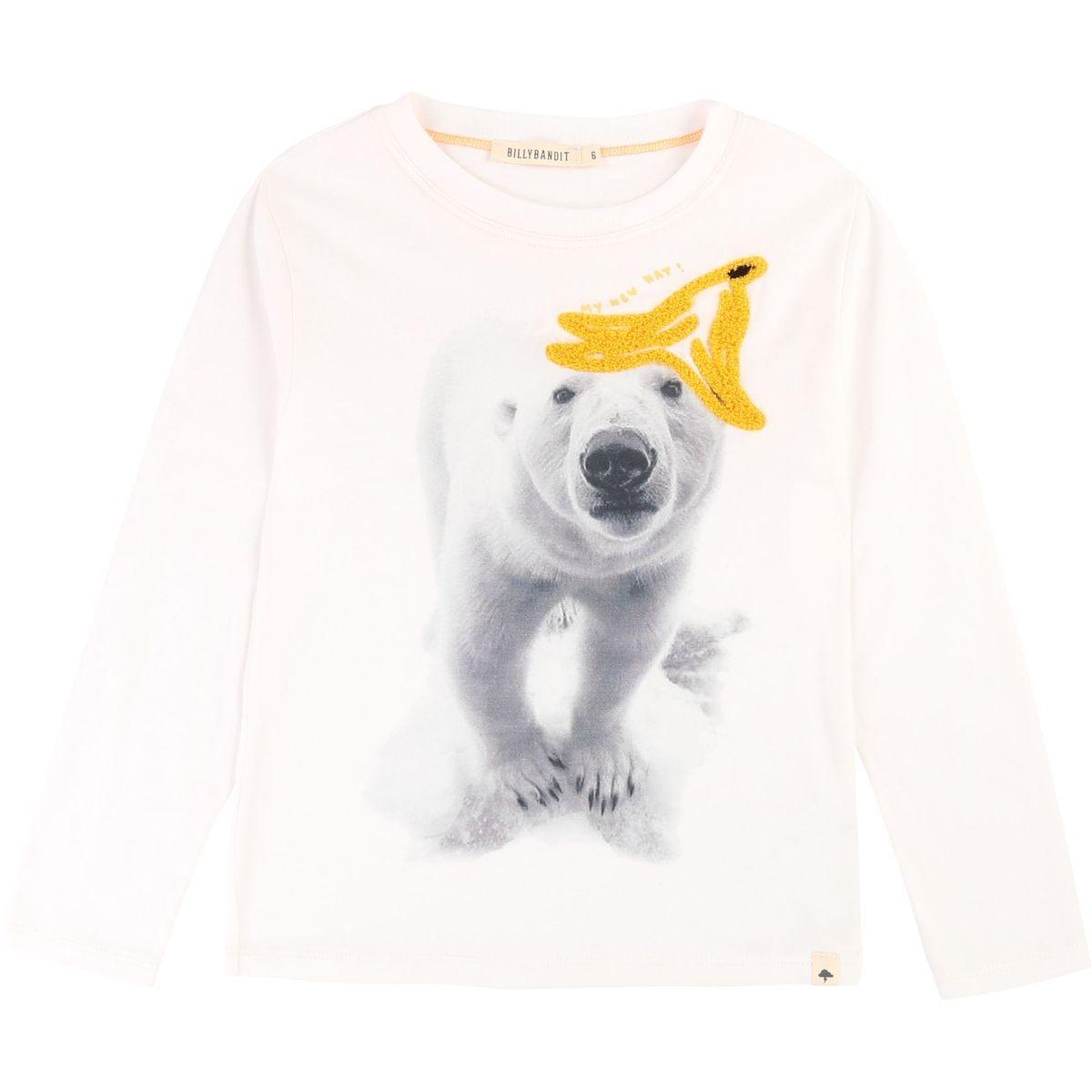 T-shirt coton avec imprimé