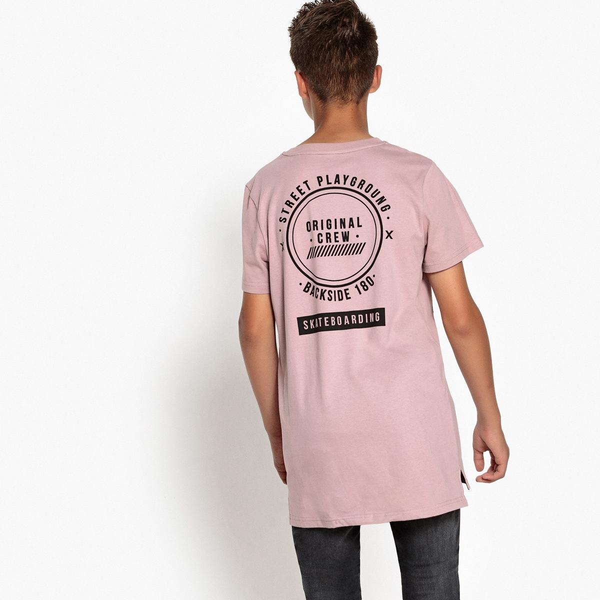 Футболка с принтом и круглым вырезом 10-16 лет футболка с принтом кактус 10 16 лет