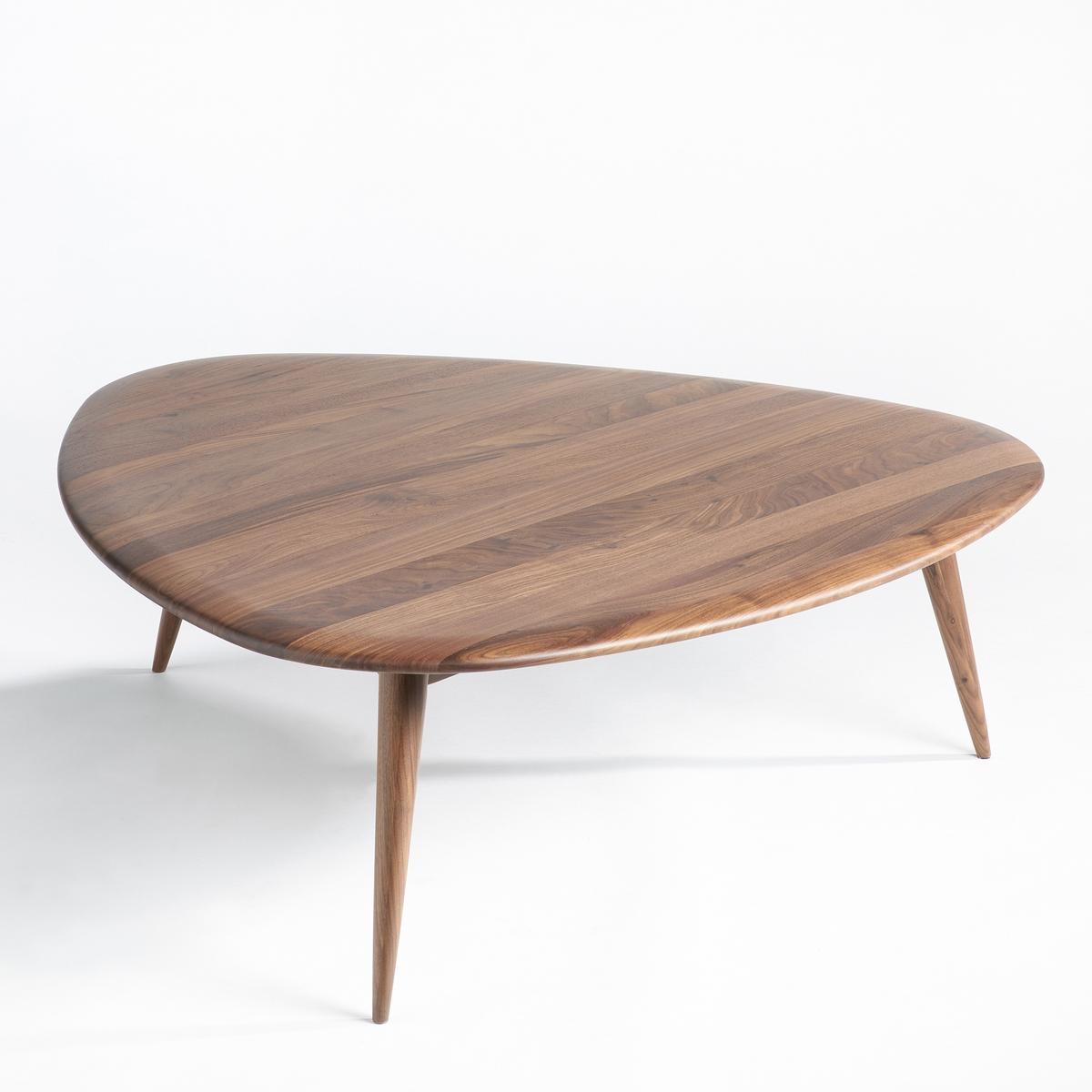 Столик La Redoute Журнальный из массива орехового дерева Tholeine большая модель единый размер каштановый