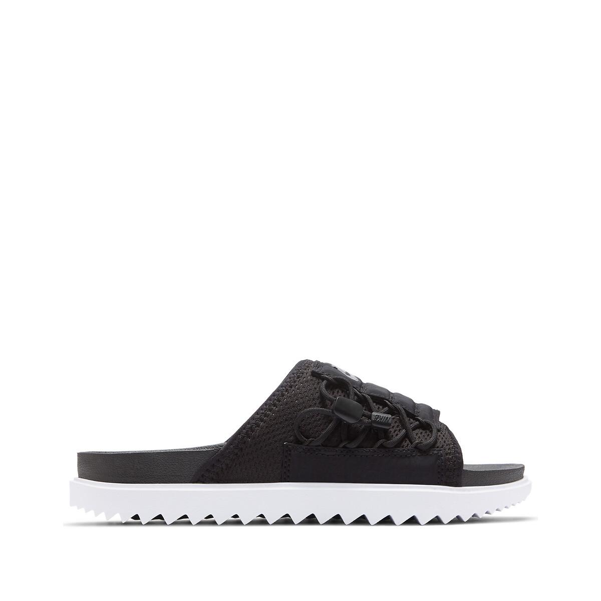 Nike Asuna Slippers Dames Black/White/Anthracite Dames online kopen