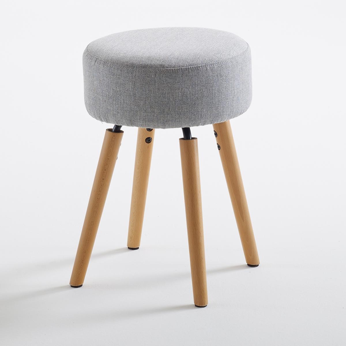 Табурет La Redoute Дизайнерский Asting единый размер серый