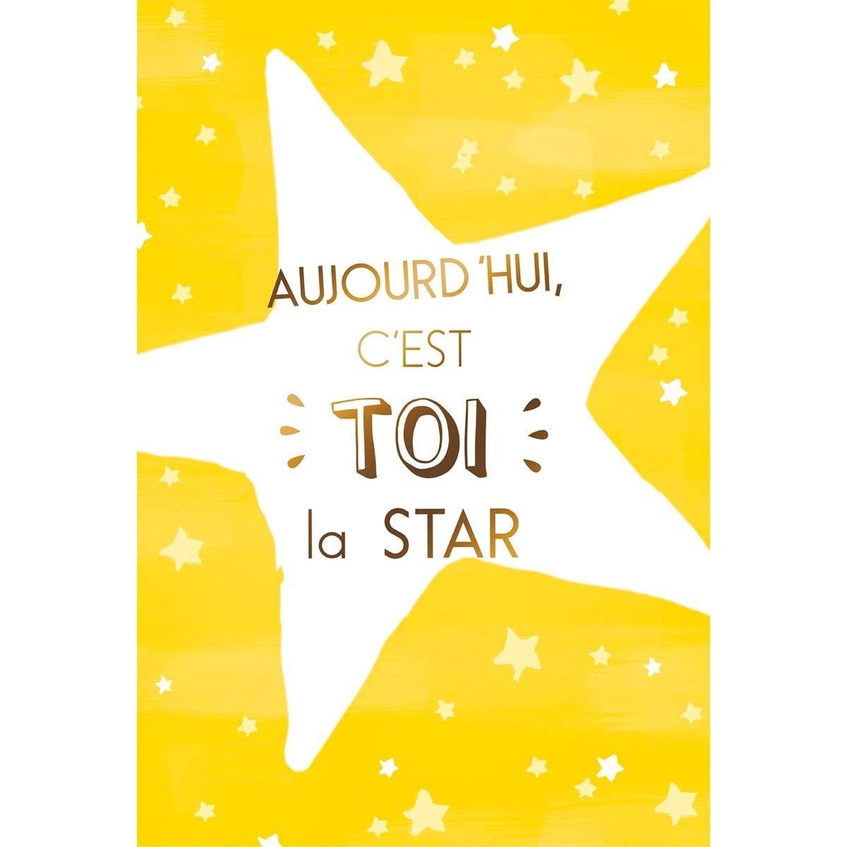 Carte C'est toi la star