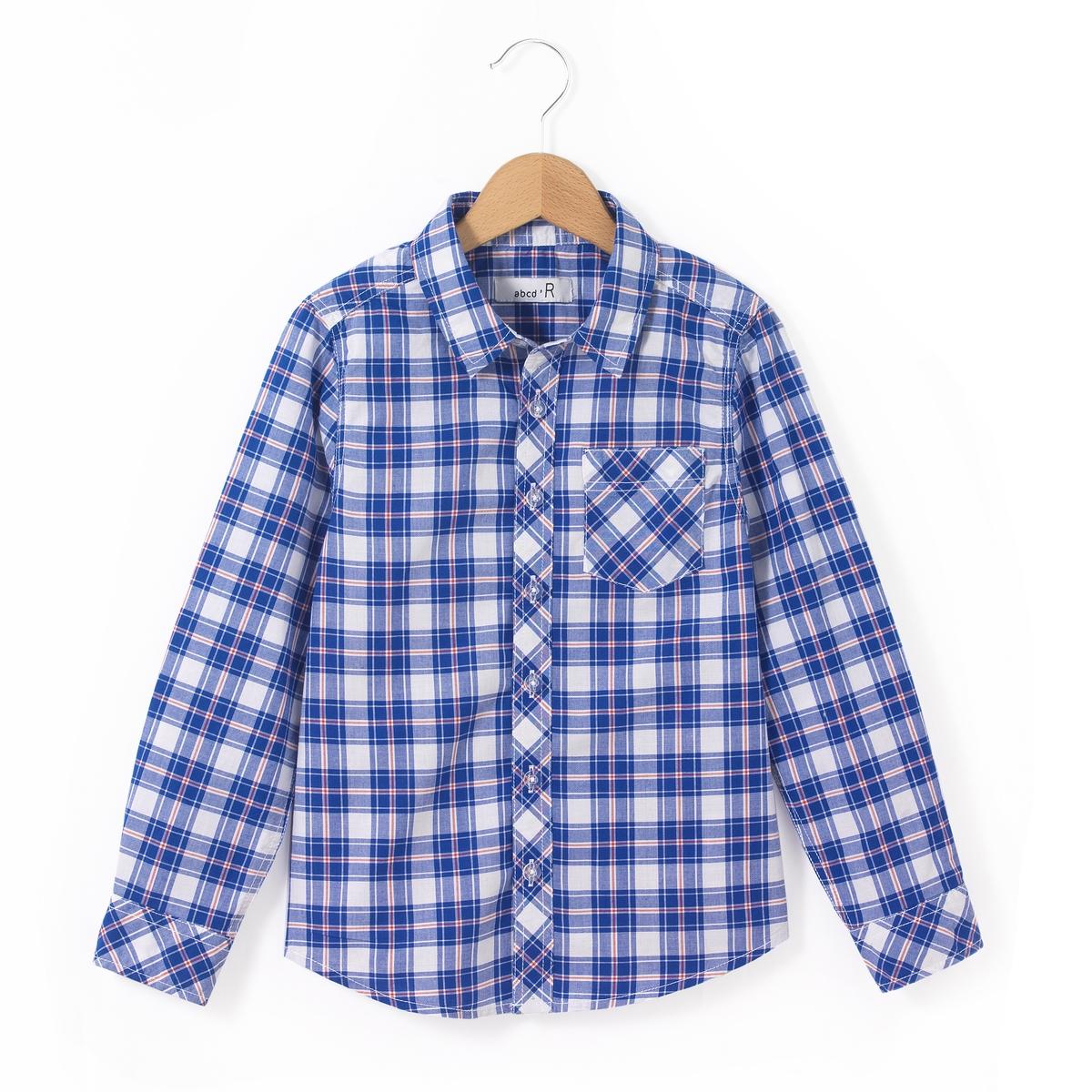 Рубашка в клетку 3-12 лет