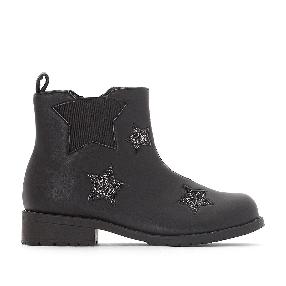 Ботинки-челси со звездами