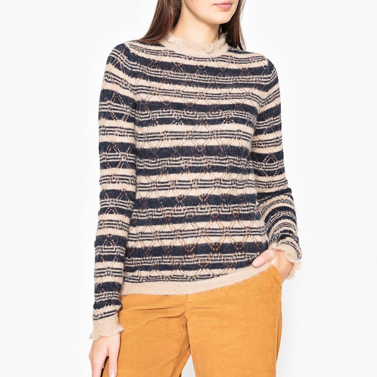 Пуловер из ажурного трикотажа MINDY