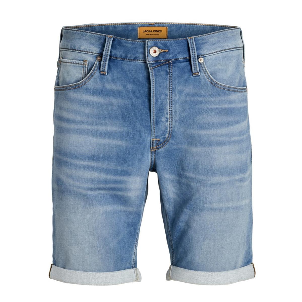 Бермуды La Redoute Из джинсовой ткани супер стрейч Rick XXL синий халат la redoute из переработанного велюра xxl синий