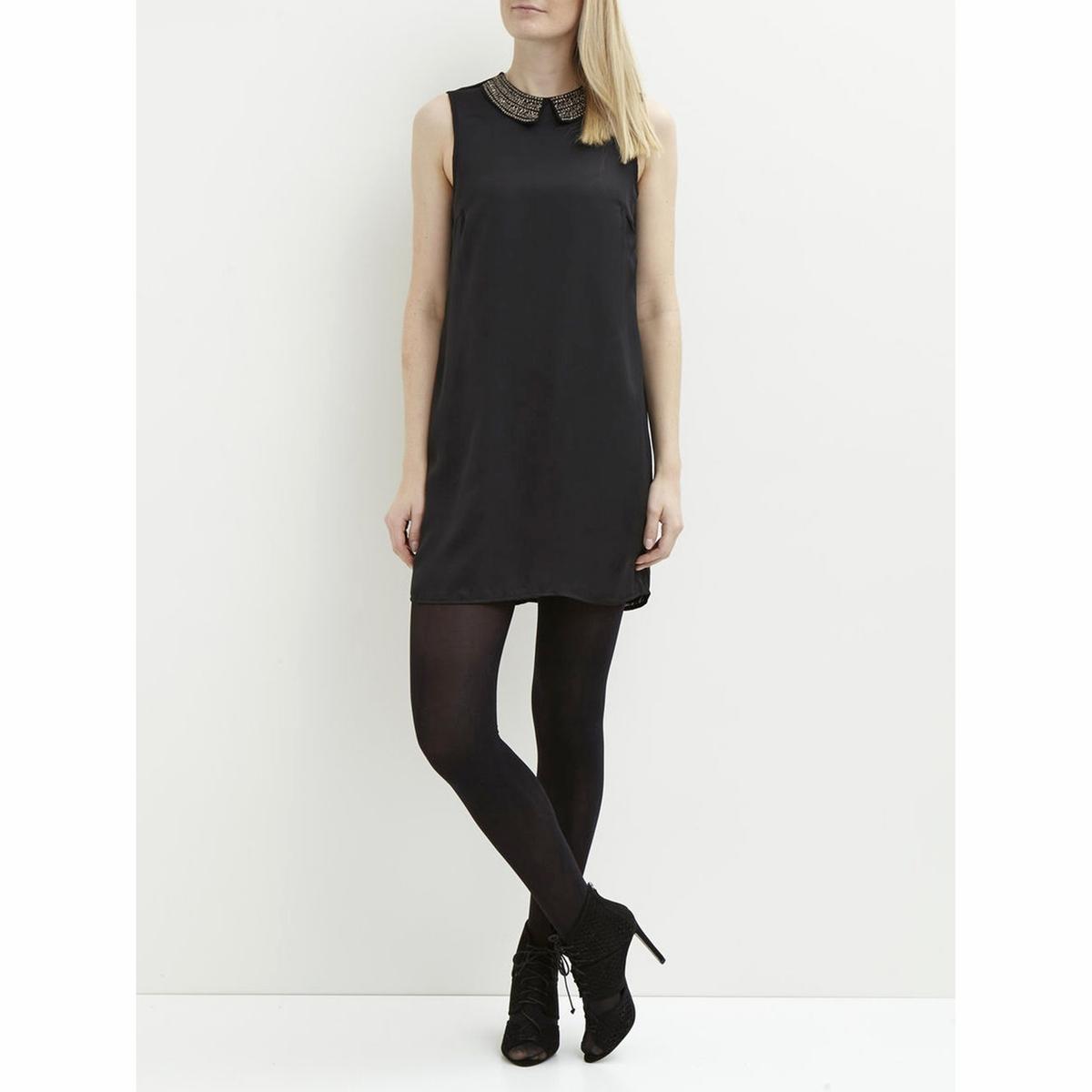 Платье без рукавов VIBLINGERS S/L DRESSСостав и описание :Материал : 100% полиэстерМарка : VILA.<br><br>Цвет: черный<br>Размер: S