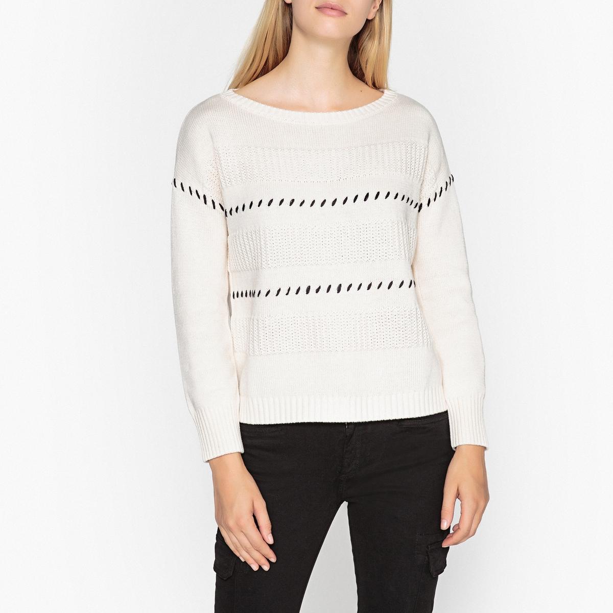 Пуловер трикотажный пуловер lueur