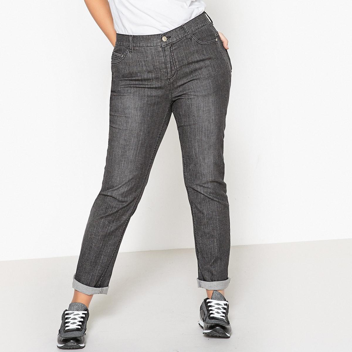 Фото - Джинсы LaRedoute Прямые стандартного покроя 44 (FR) - 50 (RUS) черный джинсы laredoute прямые 40 fr 46 rus синий