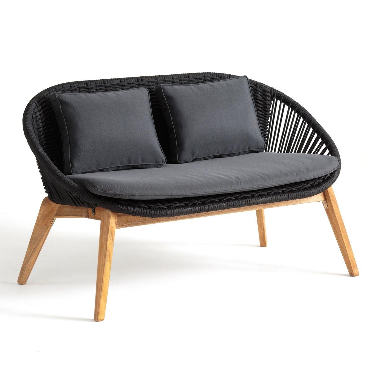 Canapé de jardin 2 places Confort
