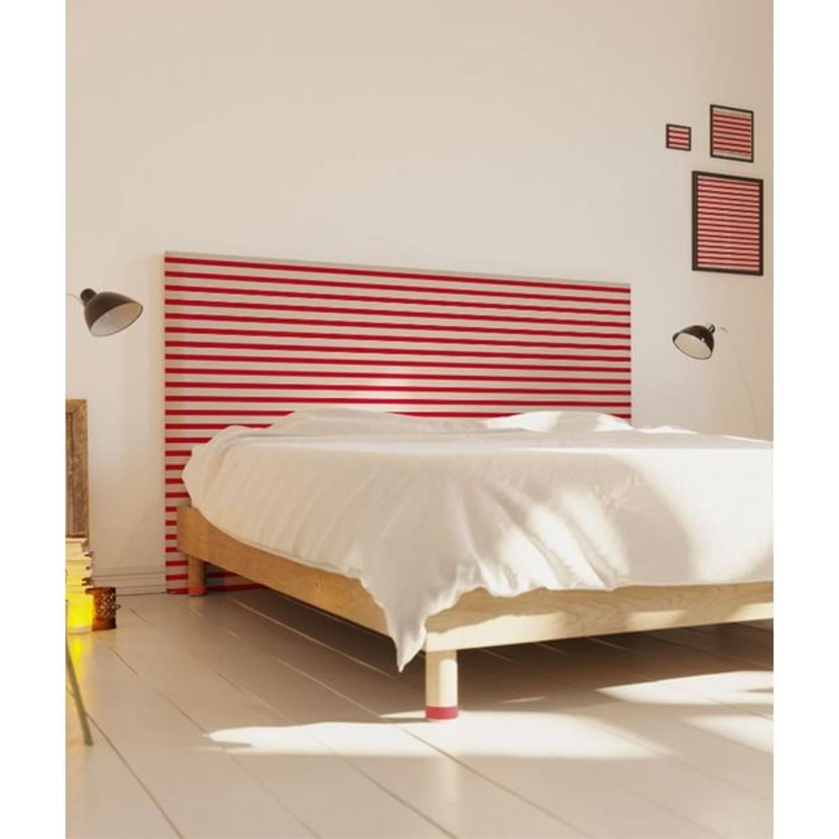 Tête de lit avec housse - Marinière - Made in France