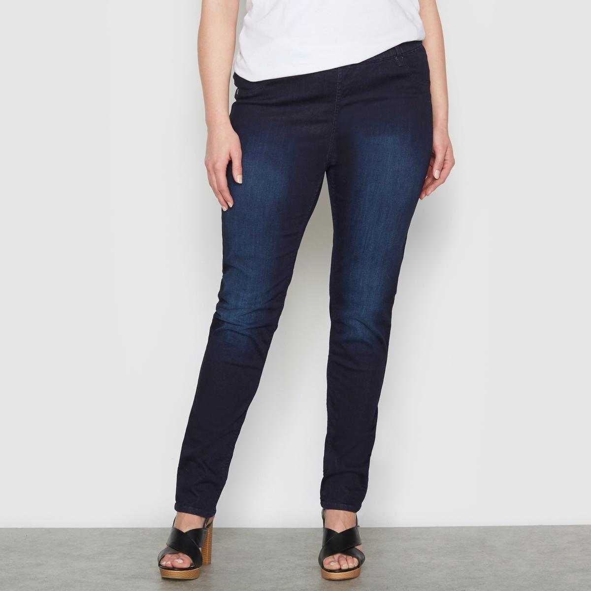 Джеггинсы из денимаДжеггинсы из денима. Незаменимая вещь в любом гардеробе ! Невероятно удобные в носке благодаря эластичному поясу. Ложные карманы спереди и накладные карманы сзади. 98% хлопка, 2% эластана. Длина по внутр.шву 78 см, ширина по низу 14 см.<br><br>Цвет: серый потертый деним<br>Размер: 56 (FR) - 62 (RUS).48 (FR) - 54 (RUS).58 (FR) - 64 (RUS).60 (FR) - 66 (RUS).44 (FR) - 50 (RUS).42 (FR) - 48 (RUS).50 (FR) - 56 (RUS).62 (FR) - 68 (RUS)