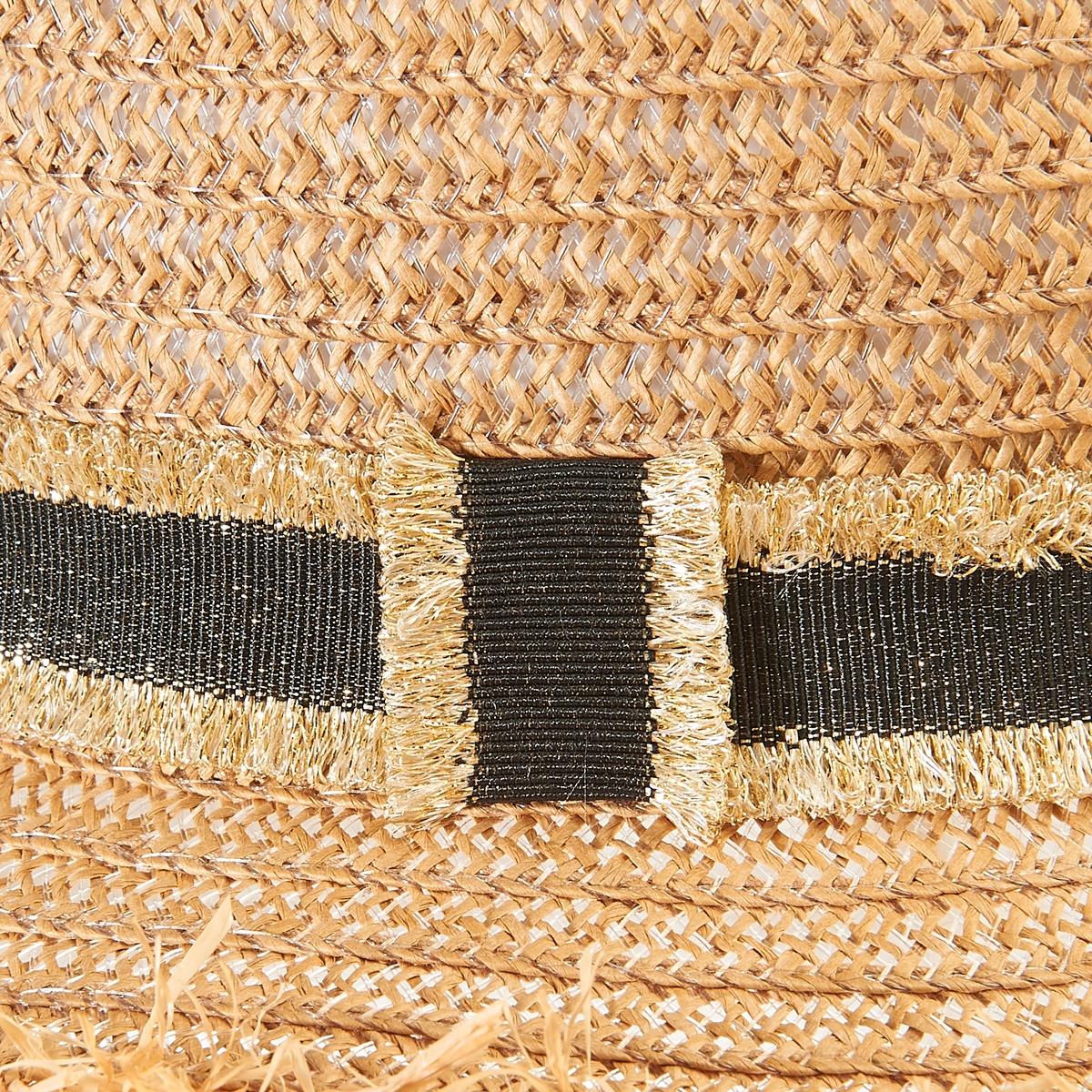 Шляпка соломенная La Redoute Collections